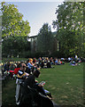 TL4458 : Cambridge Shakespeare Festival: playgoers picnicking by John Sutton