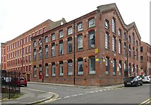 SK5640 : Provident Works (Bee Living), Russell Street, Nottingham by Alan Murray-Rust