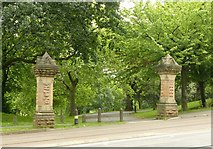 SK5640 : Entrance to The Forest Recreation Ground, Mount Hooton Road by Alan Murray-Rust