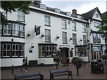 SJ9223 : The Swan Hotel, Stafford by JThomas
