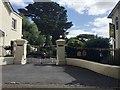 SX9073 : Entrance to Huntly, Forder Lane, Bishopsteignton by Robin Stott