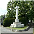 SK5641 : War Memorial, Rock Cemetery, Nottingham by Alan Murray-Rust