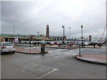 SJ7796 : Car park at the Trafford Centre by Bob Harvey