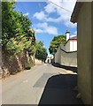 SX9073 : Nearing the summit of Forder Lane, Bishopsteignton by Robin Stott