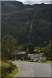 NY1717 : View down Newlands Pass towards Buttermere by habiloid
