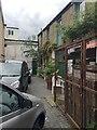 TQ3370 : Premises off Paddock Gardens, Crystal Palace triangle, southeast London by Robin Stott