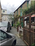 TQ3370 : Premises off Paddock Gardens, Crystal Palace triangle, southeast London by Robin Stott