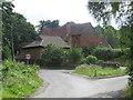 TQ1348 : Logmore Lane, Westcott, near Dorking by Malc McDonald