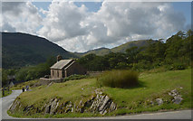NY1717 : St. James's Church, Buttermere by habiloid