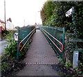 SJ3057 : Path to Caergwrle railway station, Flintshire by Jaggery