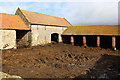 SE5576 : Farm Outbuildings on Colley Broach Road by Chris Heaton