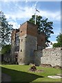 TQ7570 : Upnor Castle - The Gatehouse from the courtyard by Rob Farrow