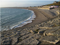 SY6873 : Chesil Cove by Peter S