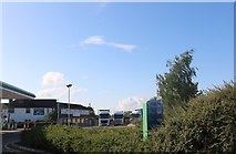 TL1395 : Services on the A1, Chesterton by David Howard