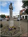 N7212 : Kildare Market Square, Memorial for the Gibbet Rath Massacre by David Dixon