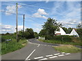 TL5306 : Road junction near Bobbingworth, Essex by Malc McDonald