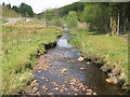 NM9838 : Dearg Abhainn in Gleann Salach by M J Richardson