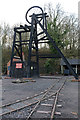SO9491 : Black Country Living Museum - colliery headgear by Chris Allen