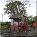 TQ8833 : Tenterden Town Signal Box by Gerald England