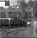 SO8555 : Clun Castle at Tunnel Hill Junction, Worcester by Chris Allen