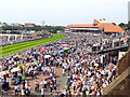 SJ4066 : Chester Races by Jeff Buck