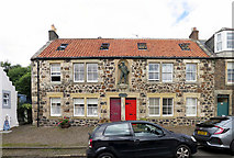 NO4202 : Robinson Crusoe House, Lower Largo by Andrew Curtis