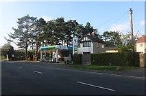 SP0838 : Harvest petrol station on Station Road, Broadway by David Howard