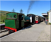 SO2309 : Brookes No. 1 steam locomotive at Furnace Sidings Station  by Jaggery