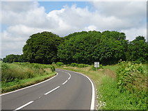ST7881 : Woodland beside the B4040 by JThomas