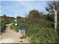 TQ3207 : Public footpath near Brighton by Malc McDonald