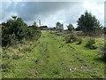 SH5055 : Looking up the Bryngwyn incline, near Glandwr by Christine Johnstone