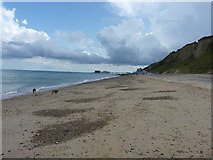 TG2142 : On the beach below Howard's Hill by Richard Law