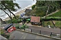 SZ5881 : Shanklin Chine, beach entrance by Michael Garlick