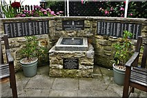 SZ5881 : Shanklin Chine: Royal Marine Commando Memorial by Michael Garlick