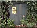 SH5872 : Old electrical cabinet on Garth Road, Bangor by Meirion