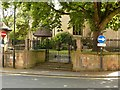 SK5461 : Churchyard gateway, Church of St Peter and St Paul, Mansfield by Alan Murray-Rust
