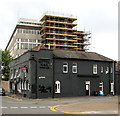 ST3188 : Reminder of the former Royal Mail pub, Newport by Jaggery