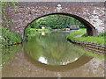 SK1509 : Canal at Bowman's Bridge near Huddlesford, Staffordshire by Roger  Kidd