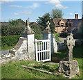SO8734 : Churchyard Gate, Bushley by Des Blenkinsopp