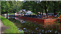 SD7731 : Floating dry dock, Leeds and Liverpool Canal by Ian Taylor