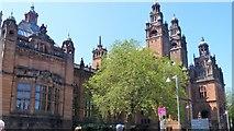 NS5666 : Glasgow buildings [25] by Michael Dibb