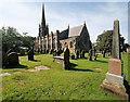 SD4232 : Kirkham, St Michael's Church and Churchyard by David Dixon