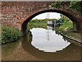 SK1509 : Plough Bridge at Huddlesford in Staffordshire by Roger  Kidd