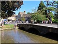 SP1620 : Bridge over the River Windrush in Bourton-on-the-Water by Steve Daniels