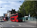 TQ3289 : Site of West Green Station London N15 by John Kingdon
