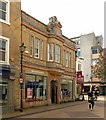 SK5361 : Santander Bank, 9 Stockwell Gate, Mansfield by Alan Murray-Rust