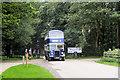 SD3527 : Double Decker Leaving Lytham Hall by David Dixon