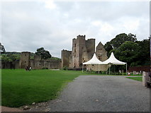 SO5074 : Ludlow Castle by Roy Hughes