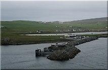 HU4841 : Bressay harbour by Ceri Thomas