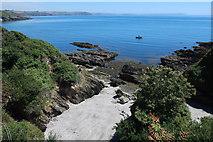 SX5646 : Beach in Church Cove by Hugh Venables
